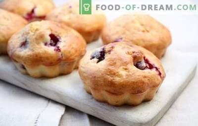 Muffins cu cireș - întotdeauna diferite, mereu delicioase! Variante de aluat și de umplutură pentru briose