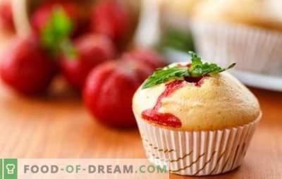 Cupcake de capsuni este o delicatesă delicioasă de fructe de pădure. Rețete de tort aromat cu căpșuni pentru ceaiul de vară plin de suflet