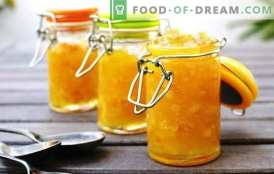 Gem de pepene galben simplu cu lămâie, scorțișoară, pepene verde, mere. Rețete simple pentru gem de pepene galben pentru iarnă