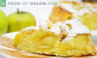 Charlotte cu mere în cuptor - 6 cele mai bune rețete. Cum să gătești o carlotă clasică și neobișnuită cu mere în cuptor.