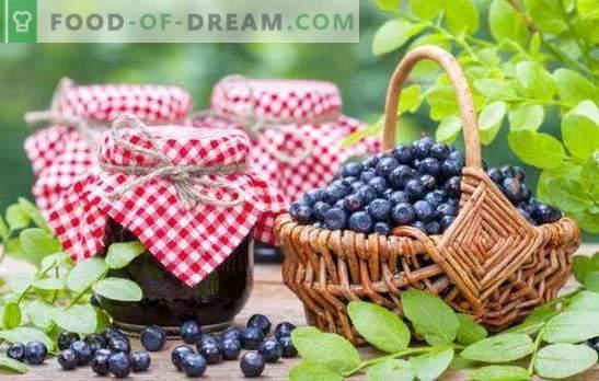 Preparate de afine pentru iarnă: gem, marmeladă, marmeladă, compot. Rețete de coacăze din afine cu zahăr și în suc propriu
