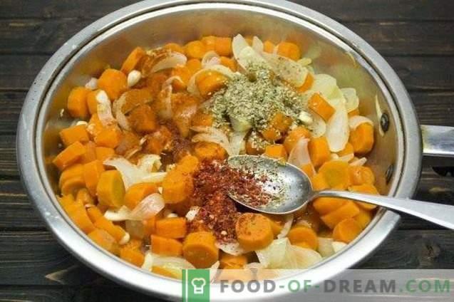 Morcovi marinați cu ceapă și oregano