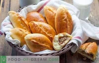 Patties de carne (reteta pas-cu-pas) este o patiserie preferata pentru snacking. Carne de carne, rețetă pas-cu-pas: prăjită și prăjită
