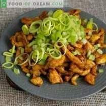 Salată dietetică cu pui fără maioneză