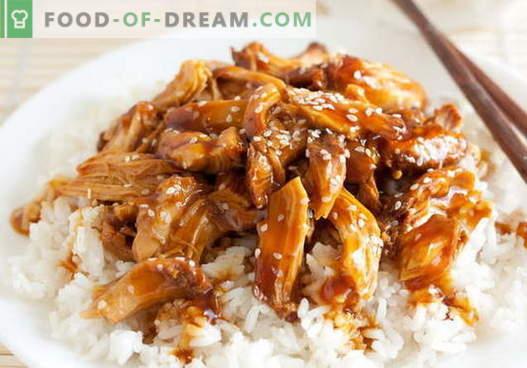Chicken Teriyaki - cele mai bune retete. Cum să gătești în mod corespunzător și delicios gătitul de teriyaki.