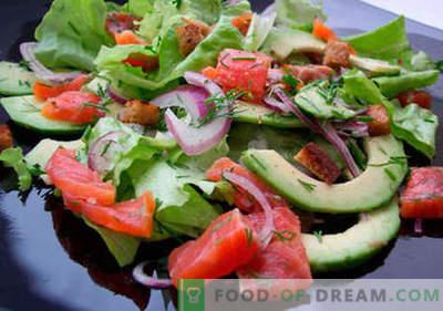 Salata de păstrăv - cele mai bune rețete. Cum sa faci o salata bine pregatita si gustoasa cu pastrav.