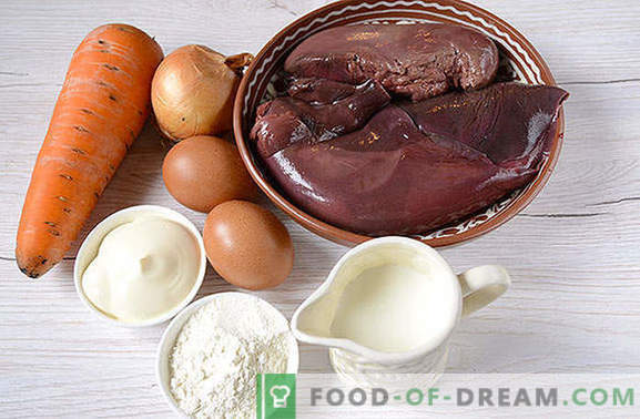 Liver cake: a great snack, convenient to have a picnic! Classic liver cake: step by step photo-recipe