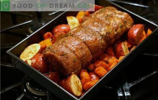 Carne de porc cu legume în cuptor - întotdeauna delicios! Cum să gătești carne de porc cu legume în cuptor - rețete simple și festive