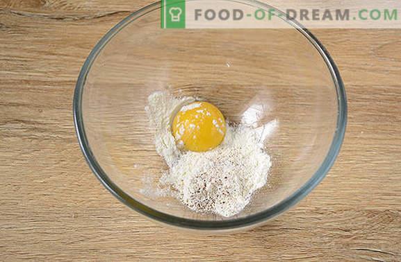 Geflügelleber im Teig: ein neues und ungewöhnliches Autorenrezept. Wie man eine leckere Hühnerleber im Teig zubereitet: ein Foto-Rezept für Schritt