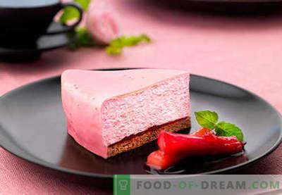 Cake Mousse - najboljši recepti. Kako pravilno in okusno kuhati torto mousse.