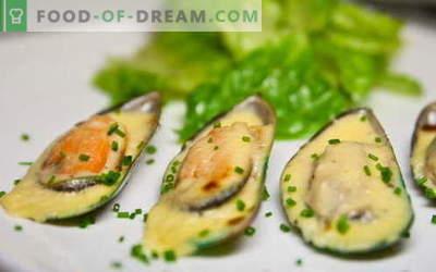 Mussels sunt cele mai bune rețete. Cum să gătești midii și gustoase.