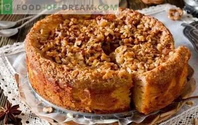 Tort rapid pentru ceai - rețete pentru gospodine! Rețete pentru prăjituri rapide pentru ceai cu brânză, mere, cacao, gem și dulce