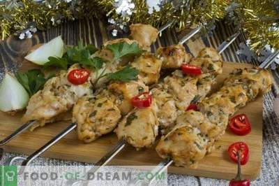 Kebab de pui în cuptor