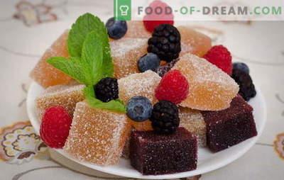 Marmeladă acasă - o delicatesă utilă. Rețete marmeladă naturală de casă: pe pectină, gelatină, nealcoolică