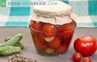 Roșii conservate pentru iarnă: depozitare delicioasă. Rețete de tomate conservate pentru iarnă