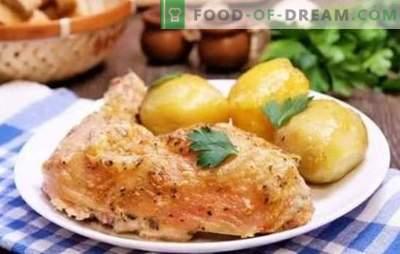 Picioarele de pui în maioneză - o crustă roșie garantată. Rețete simple de pui prajit, coapte, umplute cu maioneză