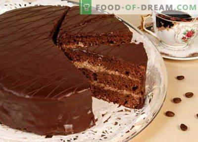 Cake Praga - cele mai bune rețete. Cum să gătești în mod corespunzător și gustos tort Praga.