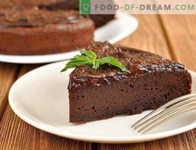 Tort de ciocolată - cele mai bune rețete. Cum să preparați în mod corespunzător și delicios un tort de ciocolată.