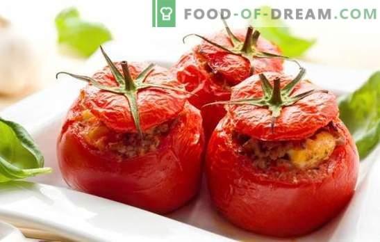 Tomate cu brânză și usturoi - descendent de kaperze italiană! Cele mai bune retete de roșii cu brânză și usturoi