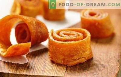 Bomboana din fructe de casa din mere în uscător este o delicatesă naturală și sănătoasă! Pregătirea pastei de casă din mere în uscător