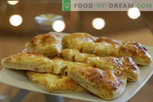 Khachapuri - cele mai bune rețete. Cum să gătești corect și gustos khachapuri.