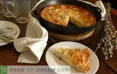 Cottage Cheese Caserola cu mere este un mic dejun neobișnuit și sănătos. Retete pentru caserole de branza de vaci cu mere: dietetice si inimioare