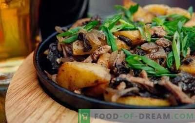 Carne prajita cu ceapa in tigaie - toata lumea este fericita! Rețete pentru carne prăjită cu ceapă într-o tigaie cu smântână și alt sos