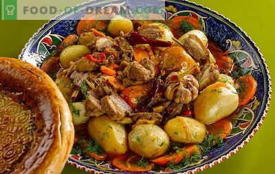Cartofi cu carne într-un cazan - un nou gust de feluri de mâncare obișnuite. Cum să gătești cartofi cu carne într-un cazan: rețete pas cu pas