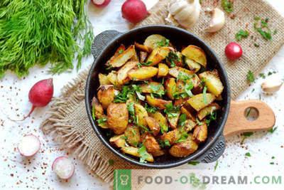Нов компир во рерна, рецепт за селски стил