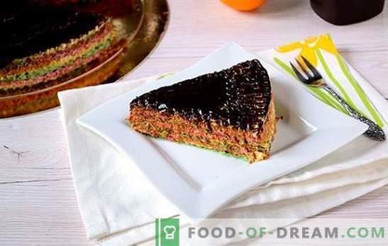 Tort de vafe: o rețetă foto pas cu pas. Efectuarea unui tort de vafe de la prăjituri gata preparate cu lapte condensat - simplu și foarte gustos!