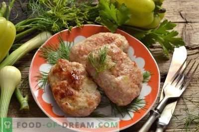 Pateuri de carne cu tărâțe și piper dulce