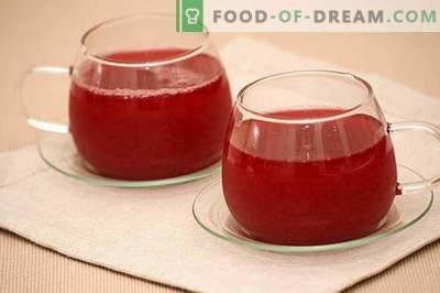 Kissel - les meilleures recettes. Comment bien et savoureux cuire la gelée.