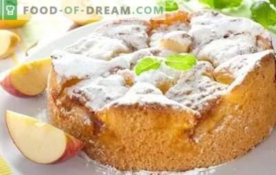 Rețete Charlotte pas cu pas - un desert delicios în douăzeci de minute. Secretele de carlotte de gătit cu fotoreceptele pas cu pas