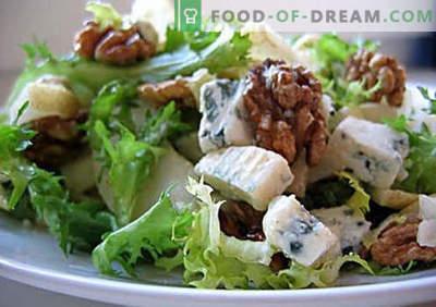 Salatele vegetariene sunt cele mai bune rețete. Cum să gătești în mod corect și gustos salate vegetariene.