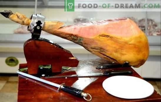 Este posibil să gătești jamon la domiciliu? Rețete și secrete de gătit jamon la domiciliu