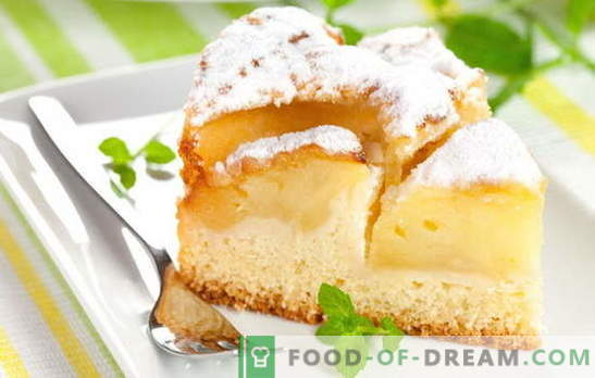 Brioșele de casă sunt întotdeauna speciale: plăcinte cu mere de kefir. Rețete simple pentru produse de patiserie și aluat pentru iaurt cu mere