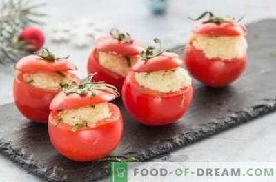 Ce poate fi gătit din roșii repede? Oferim gustări delicioase, mâncăruri de prima și a doua grămadă de roșii