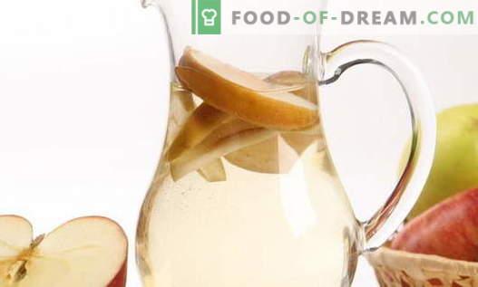 Compote van appels - de beste recepten. Hoe goede en smakelijke compote gemaakt van appels.