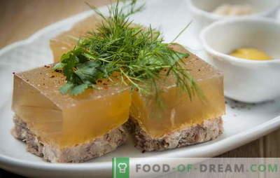Capsulă de porc - un buget găsit! Rețete de cartofi de cartofi de porc: curate și cu aditivi diferiți