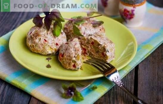 Paturi de dieta în cuptor de carne, pui, pește. Secretele și rețetele pentru prepararea cuțitelor pentru alimentația alimentară în cuptor