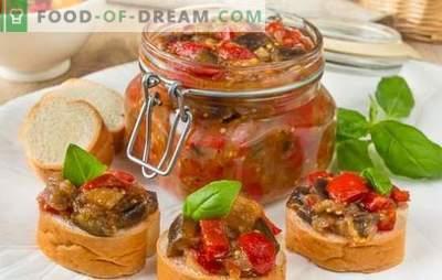 Caviarul de legume pentru iarnă - păstrăm gustul și beneficiul, definim recolta! Rețete de caviar de legume diferite pentru iarnă