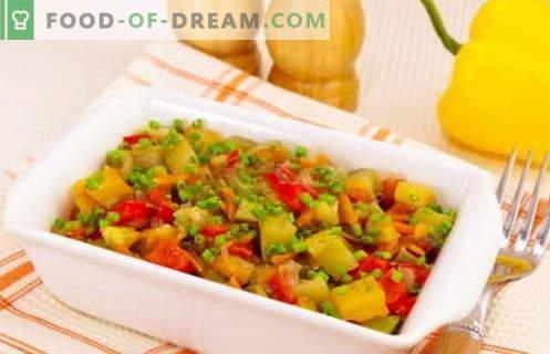 Courgettes cuites - les meilleures recettes. Comment bien et savourer les courgettes cuites cuites.