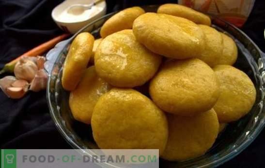 Porumb Khinkali - soarele puțin pe masă! Rețete de diferite khinkali de porumb: cu carne, brânză, dovleac, urzică, brânză