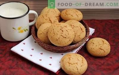 Cookie-urile de ovăz sunt un tratament util pentru casă. Ouă de brânză Retete cookie cu miere, ghimbir, scorțișoară, Peel Orange