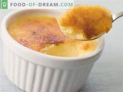 Budinca Cheesecake - cele mai bune retete. Cum să gătești în mod corect și gustos budinca de brânză de vaci.