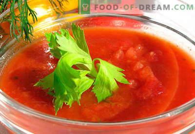 Gazpacho - retete dovedite. Cum sa faci gazpacho corect si gustos.