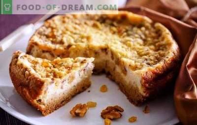 Cheesecake într-un aragaz lent - și acest lucru este posibil! Rețete brânzeturi cu brânză de vaci într-un aragaz lent: regal, ciocolată, clasic