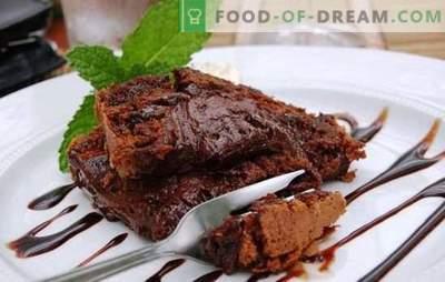Brownie în aragazul lent - pentru dinții dulci de ciocolată! Diferite rețete pentru un desert uluitor de brânză într-un aragaz lent
