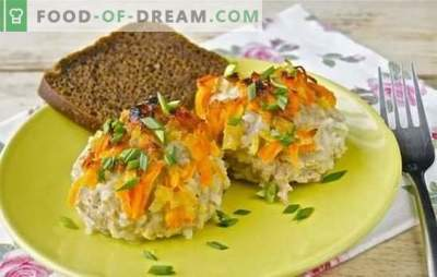 Arici din carne tocată cu orez într-o tigaie - simplu și original. Retete de arici din carne tocata cu orez intr-o tigaie intr-un sos de legume, carne si legume