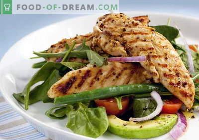 Pui de avocado - cele mai bune retete. Cum să pui în mod corect și gustos cu avocado.